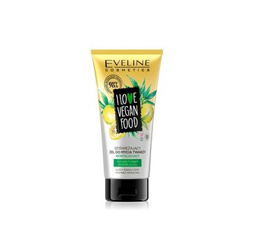 Eveline I Love Vegan Food - żel do mycia twarzy (150 ml)