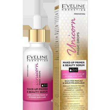 Eveline – Innowacyjna baza-serum pod makijaż Unicorn Magic Drops (30 ml)
