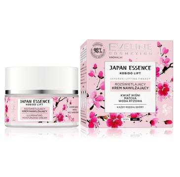 Eveline Japan Essence Rozświetlający Krem nawilżający na dzień i noc - każdy rodzaj skóry (50ml