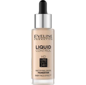 Eveline Liquid Control Long-lasting 24 podkład 001 Porcelain (32 ml)