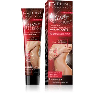 Eveline Laser Precision krem do depilacji (bikini pach i rąk 5-minutowy 125 ml)