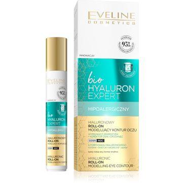 Eveline –  Liftingujący roll-on pod oczy 2w1 Bio Hyaluron (15 ml)