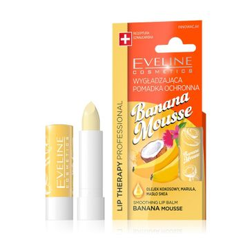 Eveline Lip Therapy Professional (pomadka wygładzająca do ust Banana Mousse 1 szt.)