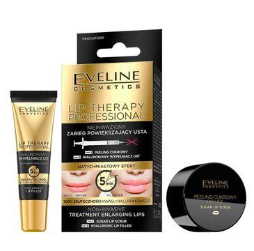 Eveline Lip Therapy zabieg powiększający usta (peeling 7 ml + wypełniacz 12 ml) 1 op.