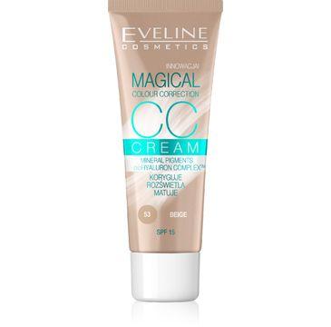 Eveline Magical CC Cream – fluid do twarzy nr 53 Beż (30 ml)