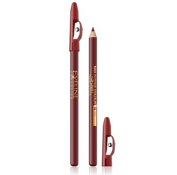 Eveline Max Intense Colour Lip Liner (konturówka do ust 15 Red 1 szt.)