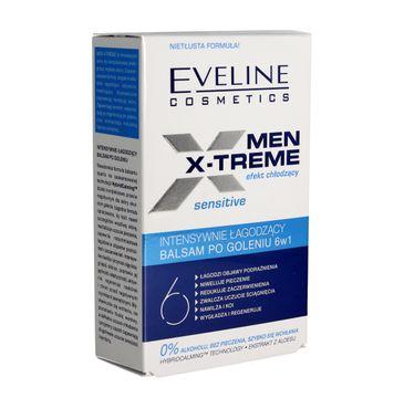 Eveline Men X-Treme 6w1 (balsam po goleniu intensywnie łagodzący Sensitive 100 ml)