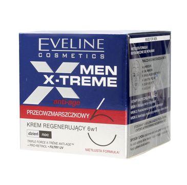 Eveline Men X-Treme 6w1 (krem do twarzy regenerujący przeciwzmarszczkowy 50 ml)