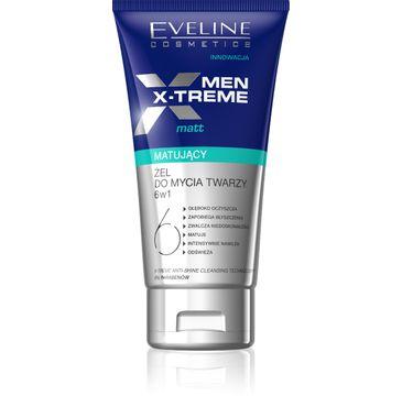 Eveline Men X-Treme 6w1 (żel matujący do mycia twarzy 150 ml)