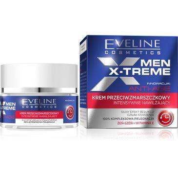 Eveline Men X-Treme (krem przeciwzmarszczkowy intensywnie nawilżający 50 ml)