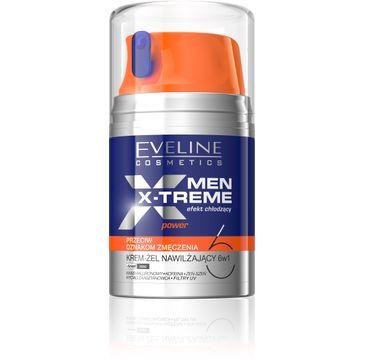 Eveline Men X-Treme (krem-żel nawilżający 6w1 przeciw oznakom zmęczenia do twarzy 50 ml)