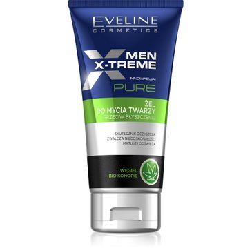 Eveline Men X-Treme Pure (żel do mycia twarzy przeciw błyszczeniu 125 ml)