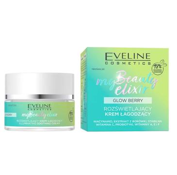 Eveline My Beauty Elixir rozświetlający krem łagodzący (50 ml)