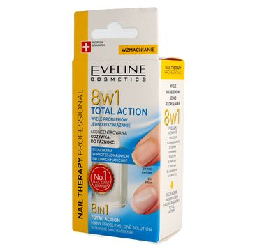 Eveline 8w1 Total Action (Nail Therapy odżywka do paznokci 12 ml)