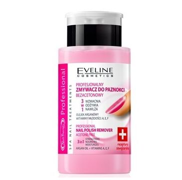 Eveline Nail Therapy Professional (zmywacz do paznokci 3 w 1 bezacetonowy 190 ml)