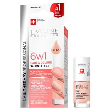 Eveline Odżywka do paznokci 6w1 Care&Colour - Nude (75 ml)