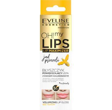 Eveline Oh! My Lips Maximizer – balsam powiększający usta Jad Pszczeli  (4.5 ml)