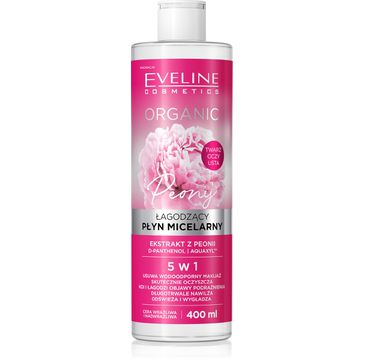 Eveline Organic Płyn micelarny łagodzący Peonia (400 ml)