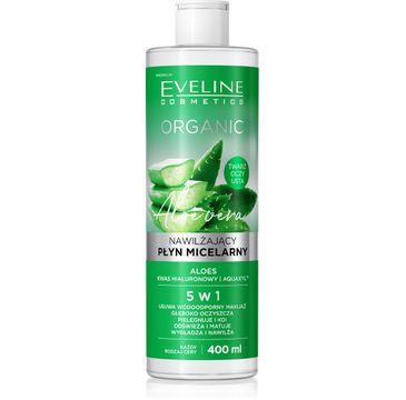 Eveline Organic Płyn micelarny nawilżający Aloes (400 ml)
