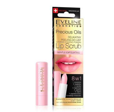 Eveline Precious Oils – peeling do ust 8w1 Lip Scrub (1 szt.)