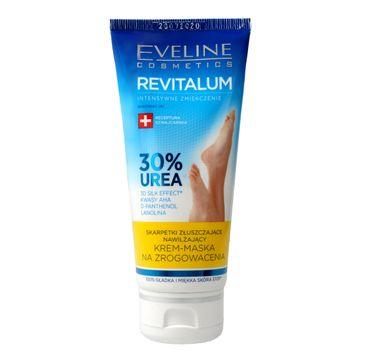 Eveline Revitalum 30% Urea Krem – maska na zrogowacenia-skarpetki złuszczające (100 ml)