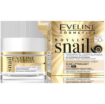 Eveline Royal Snail 50+ Skoncentrowany krem silnie liftingujący na dzień i noc 50 ml