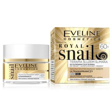 Eveline Royal Snail  skoncentrowany krem ultranaprawczy na dzień i noc 60+ (50 ml)