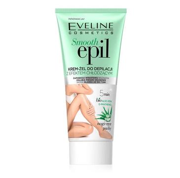 Eveline Smooth Epil krem-żel do depilacji z efektem chłodzącym (175 ml)