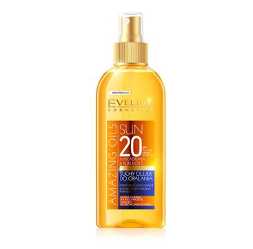 Eveline Sun Amazing Oils SPF20 – suchy olejek do opalania (150 ml)