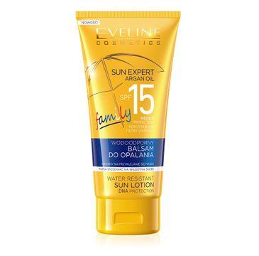 Eveline Sun Expert SPF15 – wodoodporny balsam do opalania (150 ml)