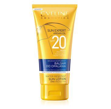 Eveline Sun Expert – wodoodporny balsam do opalania SPF20 (150 ml)