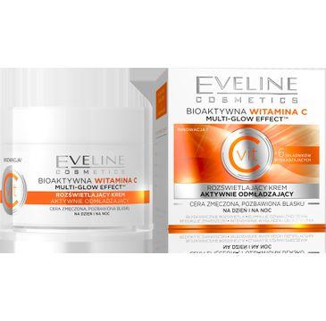 Eveline Vit C – krem do twarzy rozświetlający aktywnie odmładzający na dzień i noc (50 ml)