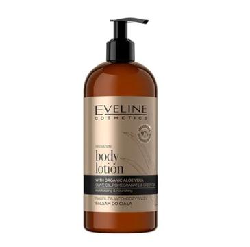Eveline Bio Organic Gold Nawilżająco-odżywczy balsam do ciała (500 ml)