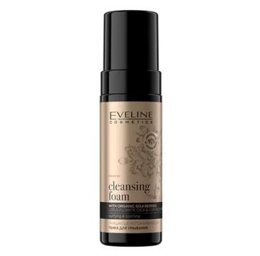 Eveline Bio Organic Gold Oczyszczająco-nawilżająca pianka do mycia twarzy (150 ml)