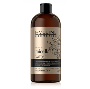 Eveline Bio Organic Gold Oczyszczająco-nawilżająca woda micelarna (500 ml)