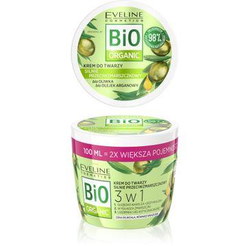 Eveline – Bio oliwka aloes łagodzący krem głęboko nawilżający do twarzy i ciała (200 ml)
