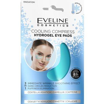 Eveline – Hydrożelowe płatki pod oczy - chłodzący kompres (2 szt.)