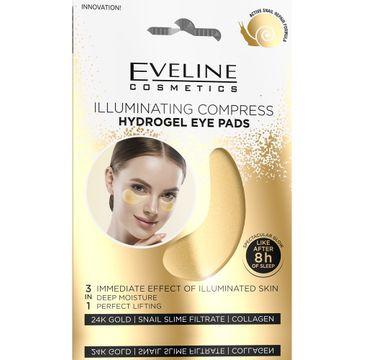 Eveline – Rozświetlające Hydrożelowe płatki pod oczy (2 szt.)