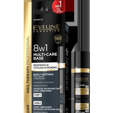 Eveline Nail Therapy Odżywka do paznokci 8w1 Hybrid (1 szt.)