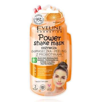 Eveline – Power Shake Odżywcza biomaseczka – peeling z probiotykami (10 ml)