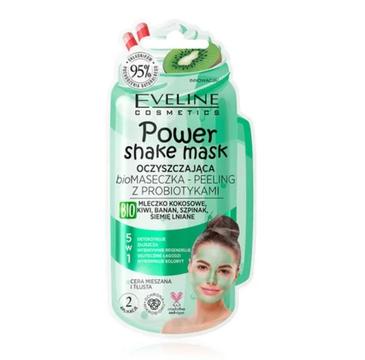 Eveline – Power Shake Oczyszczająca biomaseczka – peeling z probiotykami (10 ml)