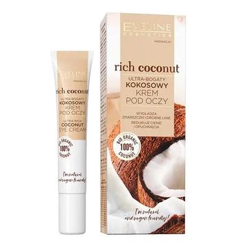 Eveline – Ultra-bogaty kokosowy krem pod oczy Rich Coconut (20 ml)
