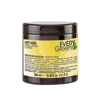 Every Green Dry Hair Nutritive Mask odżywka maska do włosów suchych i matowych 500ml