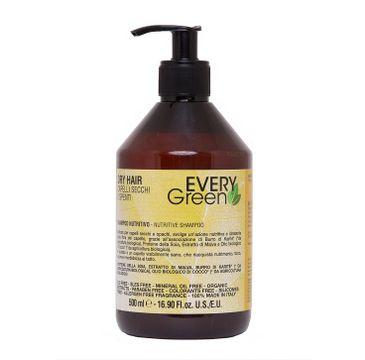 Every Green Dry Hair Nutritive Shampoo szampon do włosów suchych i matowych 500ml