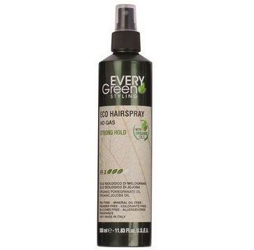 Every Green Eco Hairspray No Gas ekologiczny lakier do włosów mocno utrwalający fryzurę Strong Hold (300 ml)