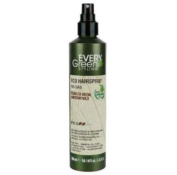Every Green Eco Hairspray No Gas ekologiczny lakier do włosów o średniej mocy utrwalenia Medium Hold (300 ml)