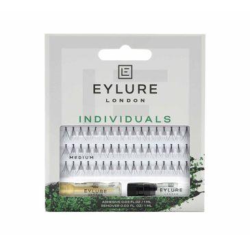 Eylure Pro-Lash Individuals kępki rzęs z klejem Medium (1 op.)