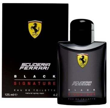 Ferrari – Black Signature woda toaletowa spray (125 ml)