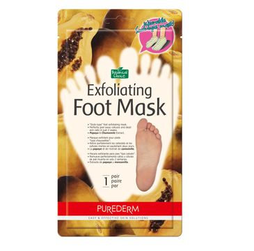 Purederm – Maska złuszczająca do stóp w formie skarpetek Regular (1 para)