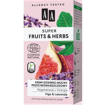 AA – Fruit&Herbs krem dzienno-nocny przeciwzmarszczkowy regeneracja+energia (50 ml)
